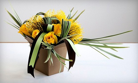 Basic Floral Design I or II Class  (a $100 value) - Trifecta Design in Salt Lake City