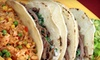 Up to 62% Off Authentic Mexican Fast-Food Meals
