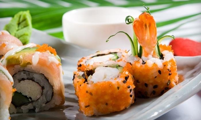 Wasabi Japanese Restaurant & Sushi Bar - De Land: $10 for $20 Worth of Fresh Sushi and Drinks at Wasabi Japanese Restaurant & Sushi Bar in DeLand