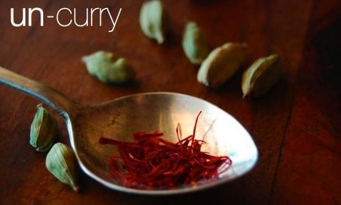 Un-Curry - McManus: $50 for an Indian Cooking Class from Un-Curry ($105 Value)