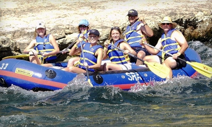 Sierra Railroad & Sunshine Rafting Adventures - Oakdale: $75 for a Seven-Hour Rail and Raft Adventure from Sierra Railroad and Sunshine Rafting Adventures in Oakdale (Up to $150 Value)