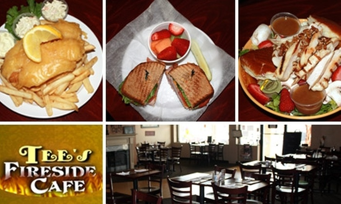 Tee's Fireside Cafe - Nashville-Davidson metropolitan government (balance): $9 for $20 Worth of Burgers, Grilled Entrees, and Drinks at Tee's Fireside Cafe