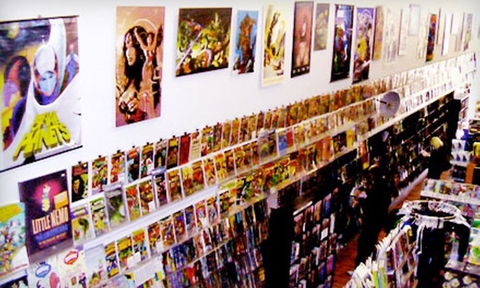 Heroes - London: $10 for $20 Worth of Comic Books, Collectibles, and More at Heroes