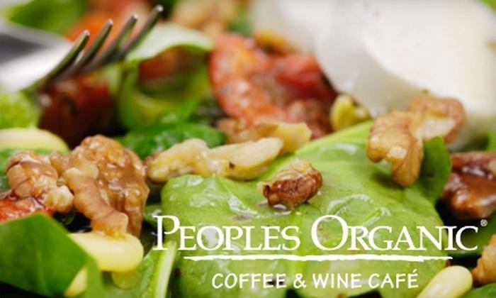 People's Organic Café - Edina: Organic American Fare at People's Organic Café. Choose between Two Options.