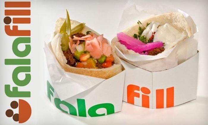 Falafill - Lakeview: $5 for $11 Worth of Casual Mediterranean Fare at Falafill