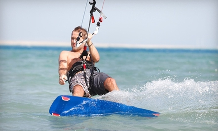 Island Riders - Multiple Locations: $185 for Three-Hour Intro to Kiteboarding Lesson with Island Riders ($370 Value)