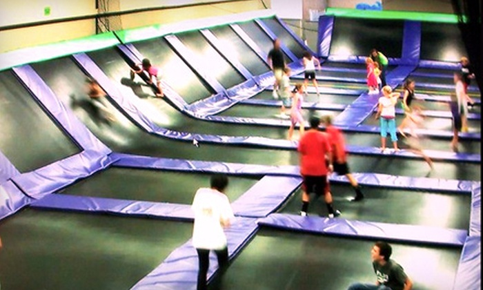 Xtreme Air Jump 'N Skate - Chandler: Jump-and-Skate Combo Passes or a Party Package (Up to 66% Off). Four Options Available.