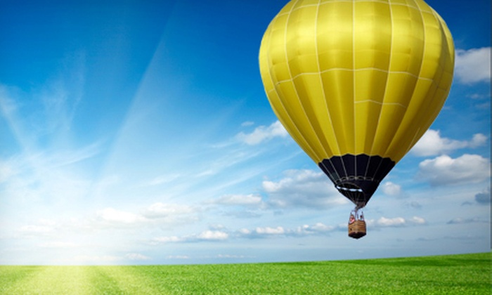High Desert Balloon Company - Boise: $109 for a Hot Air Balloon Ride for One Person with Postflight Toast and Photo from High Desert Balloon Company ($225 Value)