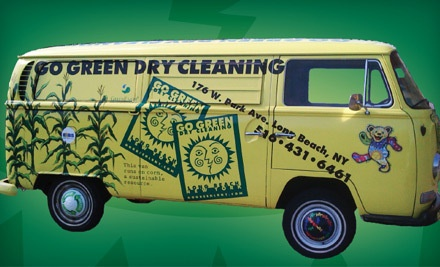 $40 Groupon for Environmentally Friendly Dry Cleaning with Free Delivery - Go Green Dry Cleaning in Long Beach