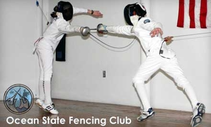 Ocean State Fencing Club - Lincoln: $60 for a Six-Week Session at Ocean State Fencing in Lincoln ($120 Value)