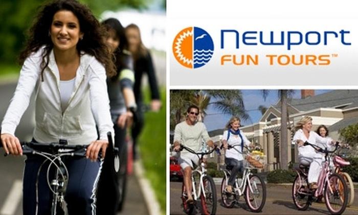 Newport Fun Tours - Newport Beach: $5 for a Two-Hour Bike Rental at Newport Fun Tours