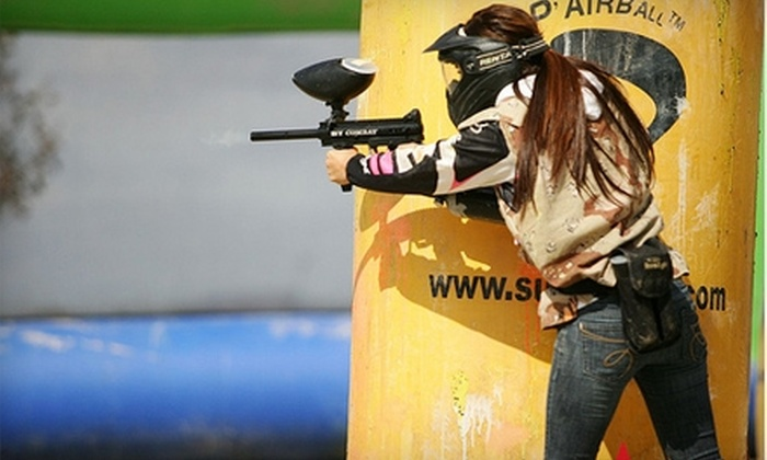 Total Combat Paintball - Chula Vista: $27 for Two All-Day Paintball Packages ($55.98 Value) or $99 for a Three-Day Camp ($299 Value) at Total Combat Paintball in Chula Vista