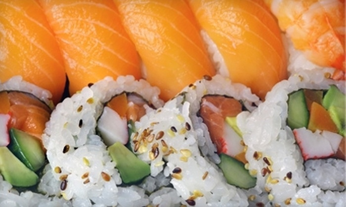Miyagi's Japanese Restaurant - Keystone at The Crossing: $15 for $30 Worth of Sushi and Japanese Fare at Miyagi's Japanese Restaurant
