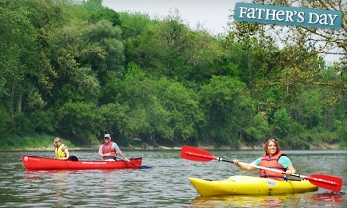 Heritage River Canoe & Kayak Company - Paris: $38 for a Three-Hour Guided Kayak or Canoe Tour from Heritage River Canoe & Kayak Company in Paris ($79.95 Value)