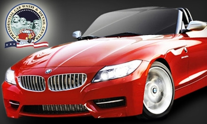 Presidential Car Wash & Detail Center  - North Hollywood: $9 for a George Washington Wash at Presidential Car Wash & Detail Center in North Hollywood ($20.99 Value)