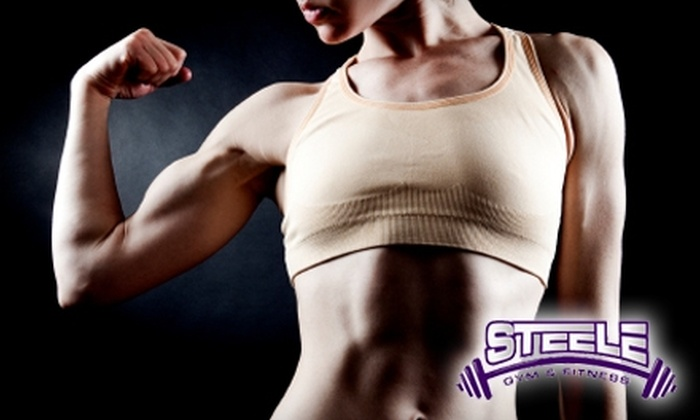 Steele Gym & Fitness - Jefferson Highlands: $39 for Three-Month Membership at Steele Gym & Fitness ($110 Value)