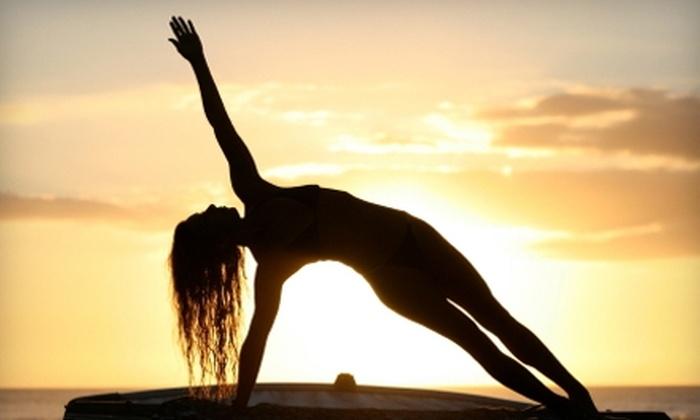 Moksha Yoga Stratford - Stratford: $39 for 10 Yoga Classes at Moksha Yoga Stratford (Up to $169.50 Value)