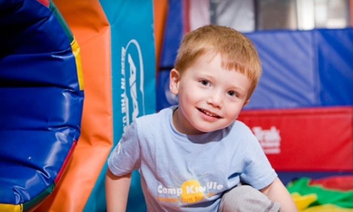 Kidville - Carlsbad: $49 for Three Classes, 10 Playspace Passes and Waived Registration at Kidville in Carlsbad ($225 Value)