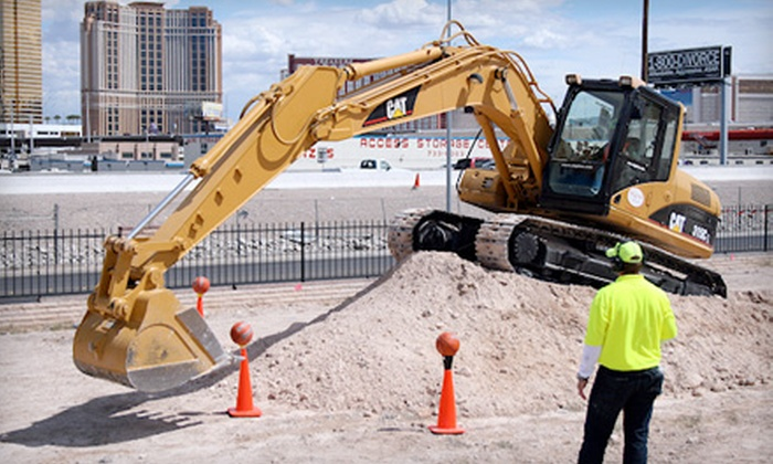 Dig This Heavy Equipment Playground - Las Vegas: $149 for a Three-Hour Bulldozer or Excavator Big Dig Experience at Dig This Heavy Equipment Playground ($400 Value)