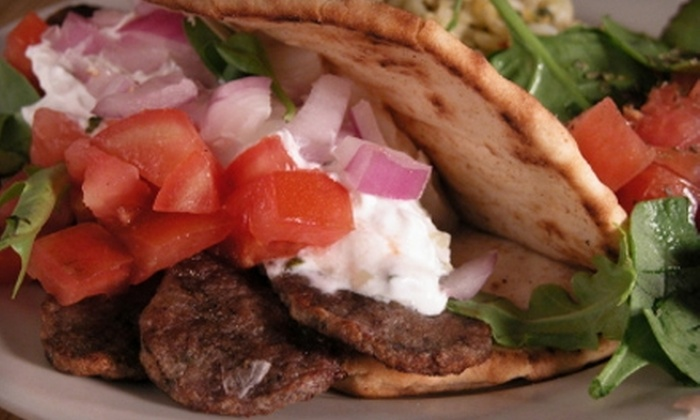 Greek to Me - Kenmore NW: $10 for $20 Worth of Greek and American Fare at Greek to Me