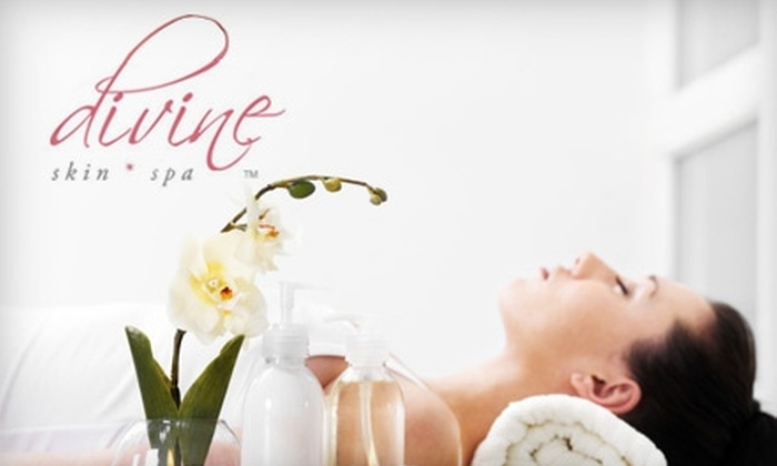 Divine Skin Spa - Paradise Valley: $49 for a Pumpkin Orange Peel and Microdermabrasion, Plus a $20 Gift Card at Divine Skin Spa (Up to $188 Value)