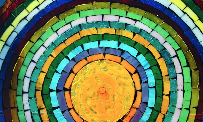 Mixed Up Mosaic Commercial - Mixed Up Mosaic Commercial: 20, 40, or 60 Square Feet of Custom Mosaic Tiling from Mixed Up Mosaic Commercial (Up to 50% Off)