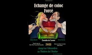 """""""Echange de coloc forcé"""" au Théâtre de l'atelier"""