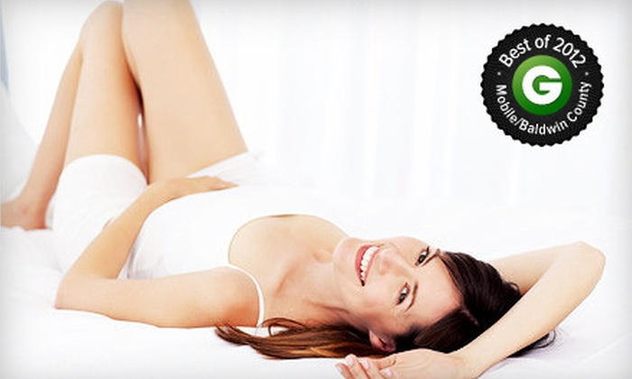 Gulf Coast Dermatology and Skin Care Centre - Multiple Locations: $119 for Three Laser Hair-Removal Treatments at Gulf Coast Dermatology and Skin Care Centre (Up to $750 Value)