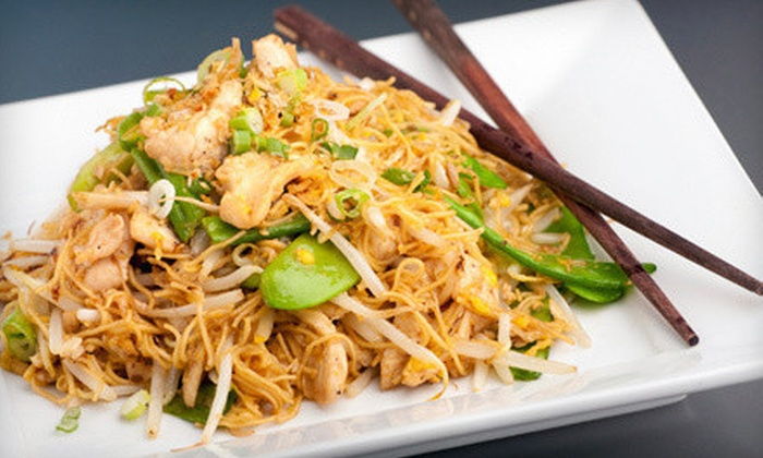 Thai Basil Restaurant - Riverton: $10 for $20 Worth of Asian Fusion Fare at Thai Basil Restaurant in Riverton