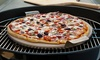 """15"""" Round Pizza Stone with a Solid Stainless Steel Tray: 15"""" Round Pizza Stone with a Solid Stainless Steel Tray"""