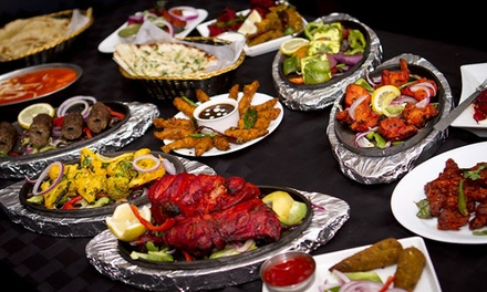 Indian Cuisine for Dinner for Two or Four at Charminar Indian Restaurant (Up to 50% Off)