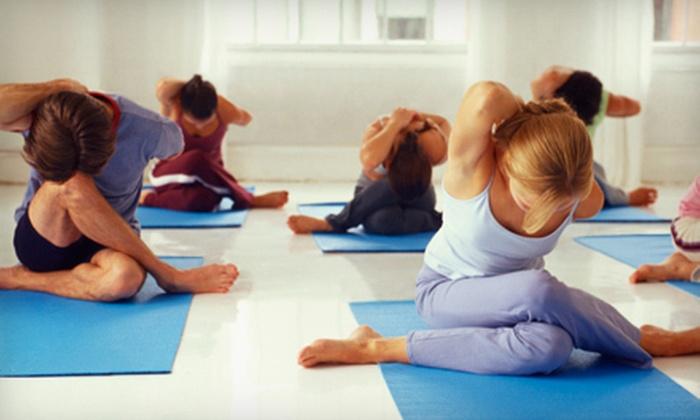 Moksha Yoga - Scarborough City Centre: $39 for 10 Classes at Moksha Yoga ($155 Value)