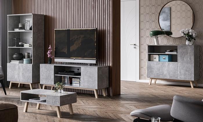 Mobili per soggiorno vero wood groupon goods for Groupon mobili soggiorno