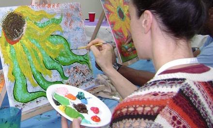 Two-Hour Painting Class for One or Two at Noric Art and Wellness (Up to 56% Off)