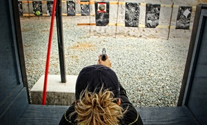 San Joaquin Rifle & Pistol Range: Shooting-Range Visit for Two or Four at San Joaquin Rifle & Pistol Range (Up to 46% Off)