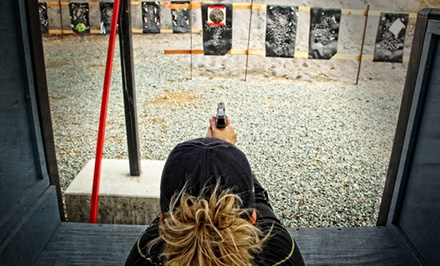 Shooting-Range Visit for Two or Four at San Joaquin Rifle & Pistol Range (Up to 55% Off)