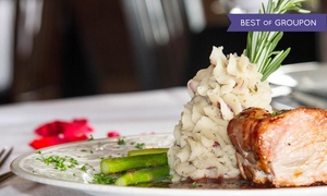 French Restaurant at The Henderson Castle: 7-Course French Tasting Menu for Two or Four at French Restaurant at The Henderson Castle (Up to 53% Off)