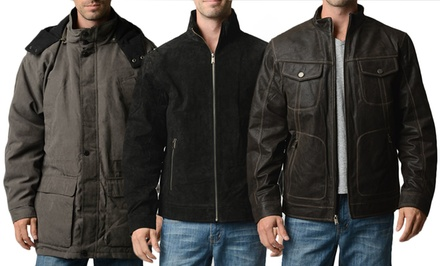 Boston Harbour Men's Winter Jackets. Multiple Styles Available. Free Returns.