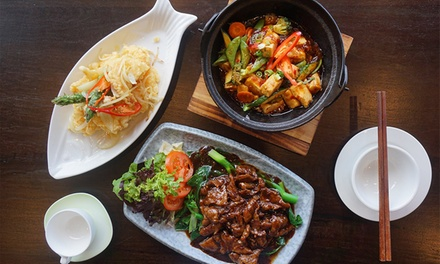 FourCourse Chinese Dinner for Two $39 or Four People $77 at C18 Chinese Restaurant Up to $163.60 Value