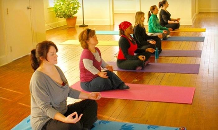Covington Yoga and Wellness Studio - Covington: $25 for a Five-Class Pass at Covington Yoga and Wellness Studio ($55 Value)