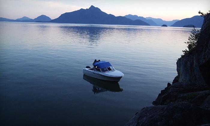 Squamish Harbour Boat Rentals - Squamish: $33 for a One-Hour Boat Rental at Squamish Harbour Boat Rentals ($75 Value)