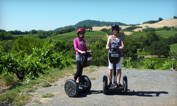 Segway of Healdsburg - Healdsburg: $49 for a Russian River Vineyards Deluxe Segway Tour from Segway of Healdsburg ($99 Value)