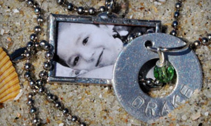 Sodderbug: One, Two, or Four Custom Photo Charms from Sodderbug (Up to 61% Off)