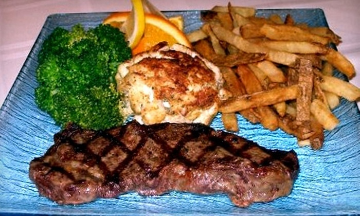 The Glass Grill - Baltimore: $10 for $20 Worth of American Bar Fare at The Glass Grill
