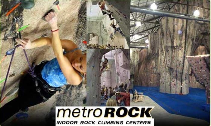 MetroRock - Newburyport: $20 for 1 Rock Climbing Class (normally $40 - 50% Off)
