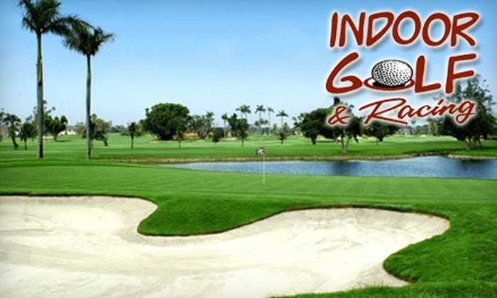 Indoor Golf & Racing - Spokane Valley: $15 for One Hour of Golf Simulation Time at Indoor Golf & Racing ($30 Value)
