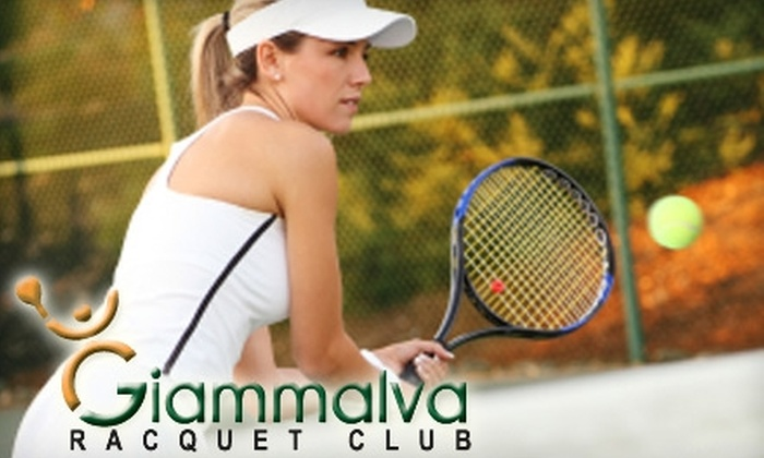 Giammalva Racquet Club - Northwest Harris: $10 for One Group Cardio-Tennis Class at Giammalva Racquet Club in Spring ($20 Value)