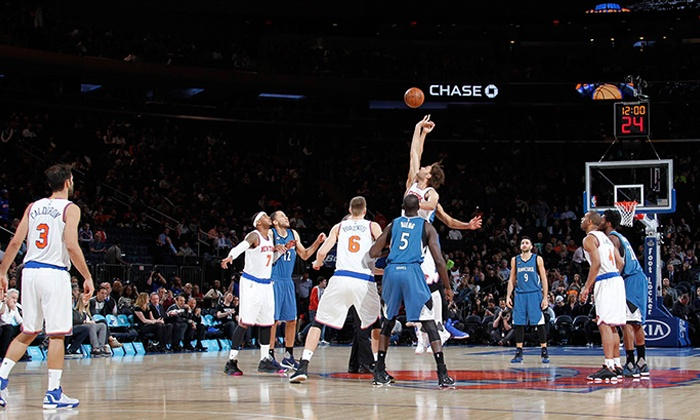 New York Knicks - Madison Square Garden: New York Knicks Tickets (January 20–March 20)
