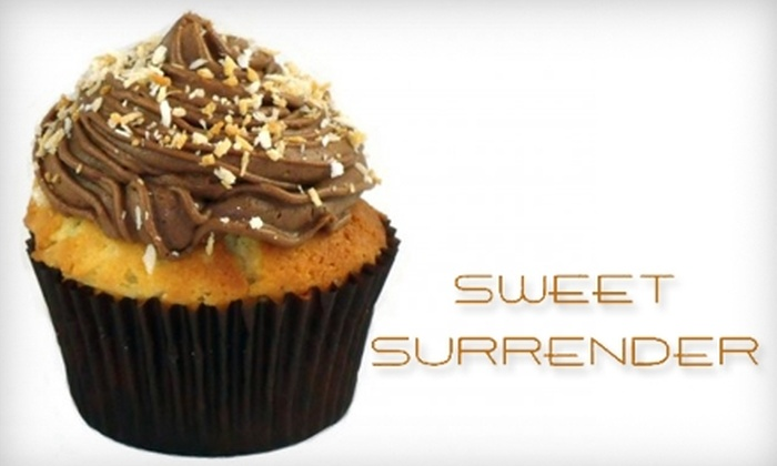 Sweet Surrender - Boynton Beach: $7 for One Dozen Mini-Cupcakes or $17 for One Dozen Large Cupcakes from Sweet Surrender