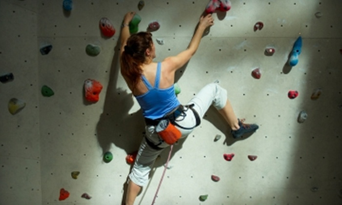 Nevada Climbing Centers - Paradise: $25 for a One-Month Unlimited Climbing Membership and One Intro Lesson at Nevada Climbing Centers ($50 Value)